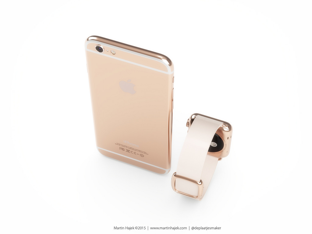 iWatch Gold
