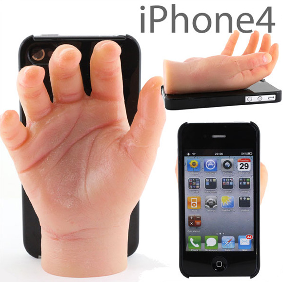 Coque iPhone en forme de main – source : media.idownload.com