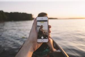 Photo prise sur iPhone pendant un voyage