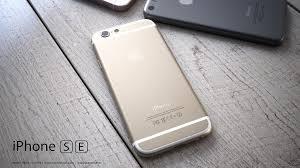 Dos de l'iPhone SE