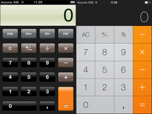La Calculette Scientifique sur iPhone